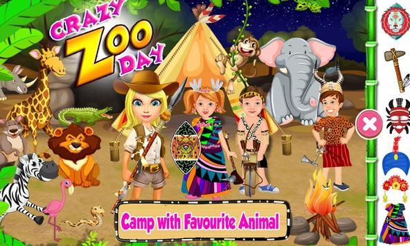 Crazy Zoo Day apk screenshot