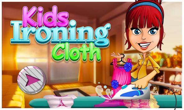 Iron Clothes Little Kid Games poster