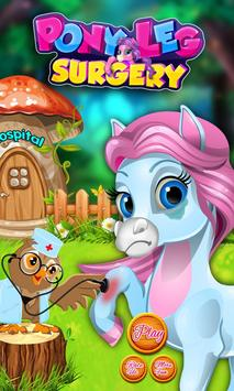 Pony Leg Surgery Doctor poster