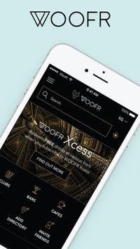 WOOFR - Nightlife & Lifestyle App poster