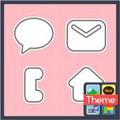 Woojji kkalkkeumi Pink K icon