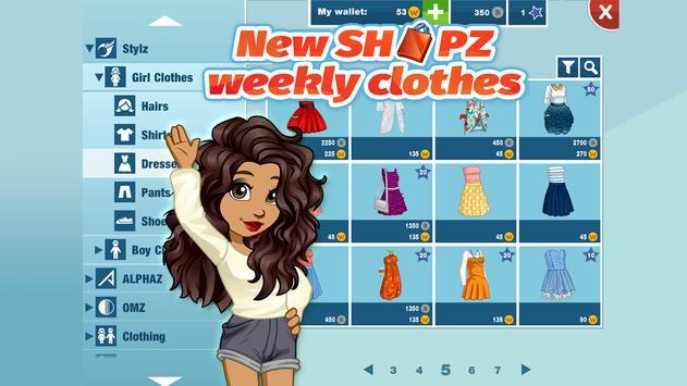 Woozworld - Fashion & Fame MMO apk screenshot