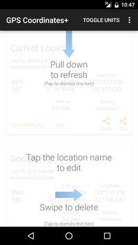 GPS Coordinates+ screenshot 1
