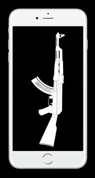 Ak-47 Duvar Kağıtları 2018 ảnh chụp màn hình 9