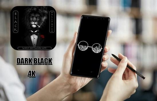 Black Themed Wallpapers pro. 2018 screenshot 1