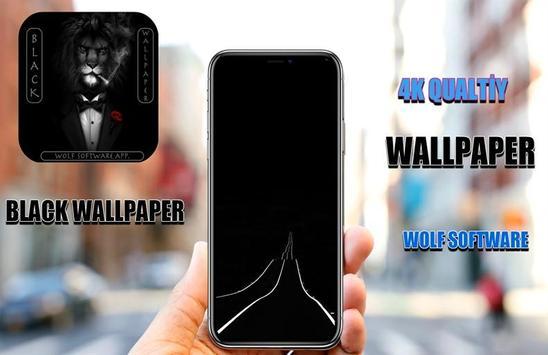 Black Themed Wallpapers pro. 2018 screenshot 5