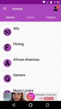 Amore - Chat and Flirt apk screenshot