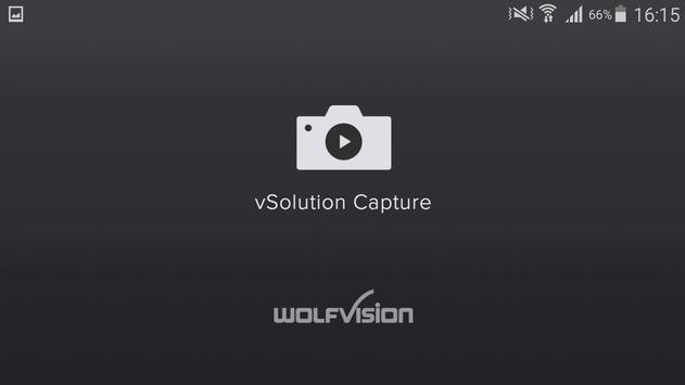 vSolution Capture WolfVision poster