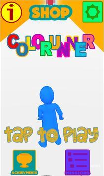 Colorunner - test poster