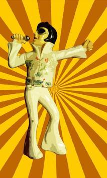 Dancing Wackel Elvis poster