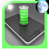 Night battery saver icon