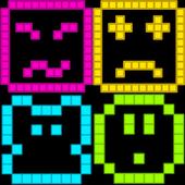Pixel breaker icon