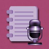 聲音轉文字編輯器 icon