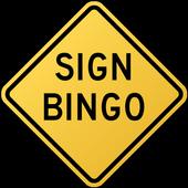 Sign Bingo icon
