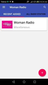 Woman Radio apk screenshot
