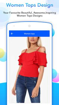 Woman Top Design 2017 screenshot 2