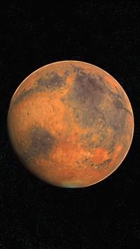 Mars Live Wallpaper 3D screenshot 7