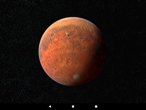Mars Live Wallpaper 3D screenshot 8