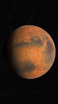 Mars Live Wallpaper 3D poster