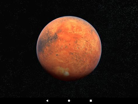 Mars Live Wallpaper 3D screenshot 14