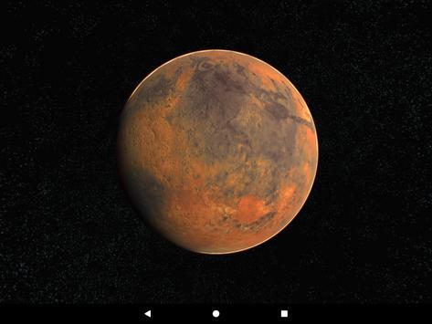 Mars Live Wallpaper 3D screenshot 19