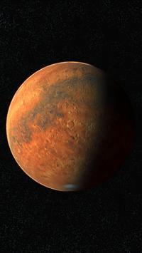 Mars Live Wallpaper 3D screenshot 1
