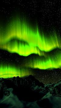 Aurora Borealis Live Wallpaper poster