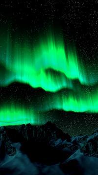 Aurora Borealis Live Wallpaper apk screenshot