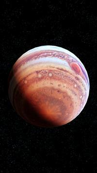 Jupiter Live Wallpaper 3D screenshot 4