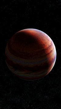 Jupiter Live Wallpaper 3D screenshot 5