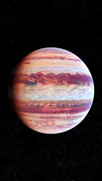 Jupiter Live Wallpaper 3D screenshot 6