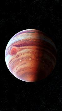 Jupiter Live Wallpaper 3D screenshot 7