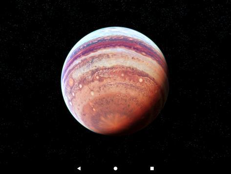 Jupiter Live Wallpaper 3D screenshot 13