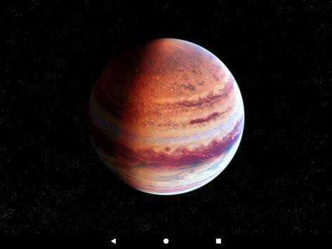 Jupiter Live Wallpaper screenshot 10