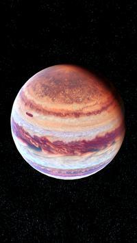 Jupiter Live Wallpaper 3D screenshot 1