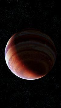 Jupiter Live Wallpaper 3D screenshot 2