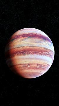 Jupiter Live Wallpaper 3D screenshot 3
