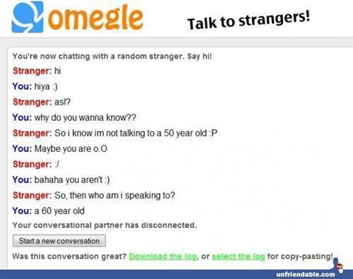 Talk girl strangers omegle to cdn.dewtour.com