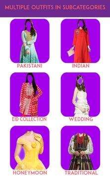 Women Fashion Suit Photo Editor apk screenshot