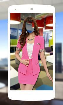 Women Formal Suit poster
