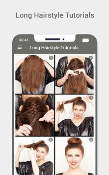 Long Hairstyle Tutorials screenshot 4