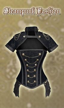 Women Steampunk Suit Photo Editor screenshot 17