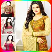 Women Salwar Photo Suit|Indian Salwar Photo Frames icon