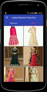 Latest Women Party Dress 2018 screenshot 1