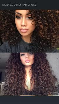 Naturally Women's Curly Hairstyle screenshot 4