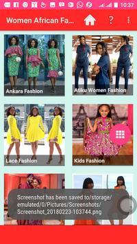 Women African Fashion ポスター