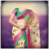 Indian Saree Photo Suit icon