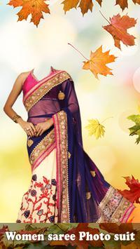 Indian Saree Photo Suit poster