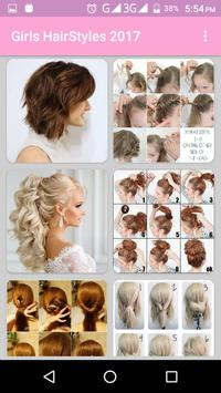 Girls Women Hairstyles and Hair Cuts 2017 poster