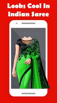 Women Saree Photo Suit poster